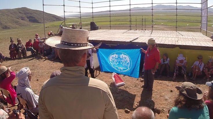 "The perfomance of Sakha shaman Kulan on the festival ""The call of 13 Sha..."