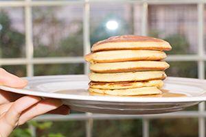 Pancakes senza burro La ricetta su www.chicchiola.com