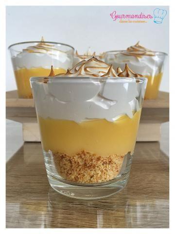 Verrine tarte au citron meringuée