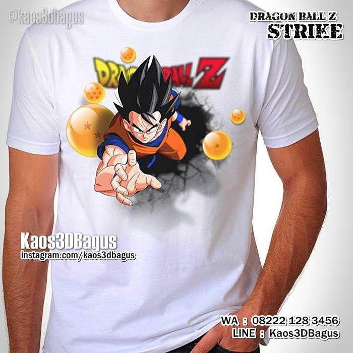Kaos DRAGON BALL STRIKE, Kaos3D, Son Goku, Son Gohan, Kaos Kartun Dragon Ball, https://instagram.com/kaos3dbagus, WA : 08222 128 3456, LINE : Kaos3DBagus