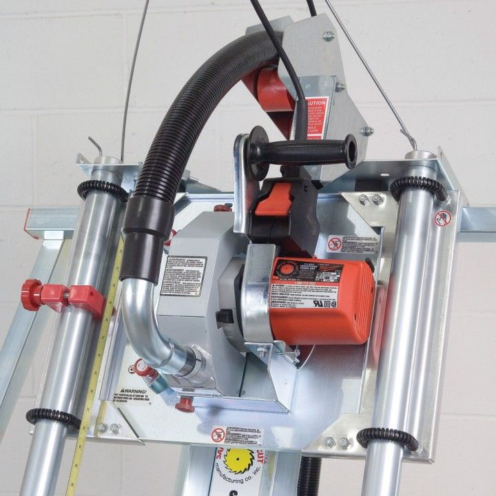 Safety Speed Cut Vertical C4 Panel Saw w/Accessory Package - Rockler Woodworking Tools