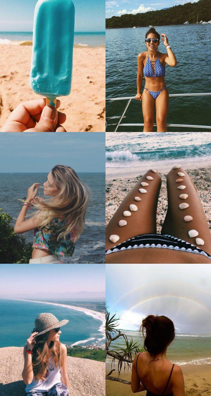 fotos na praia tumblr