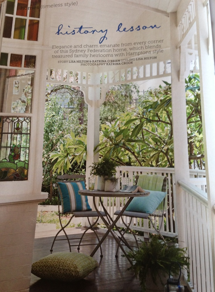 Dream Veranda From The Australian Home Beautiful