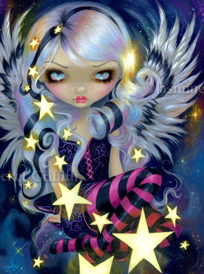 Angel of Starlight by jasminetoad.deviantart.com on @deviantART
