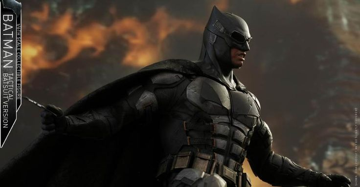 Hot Toys Justice League Batman Tactical Suit 1/6 Scale Figure - The Toyark - News