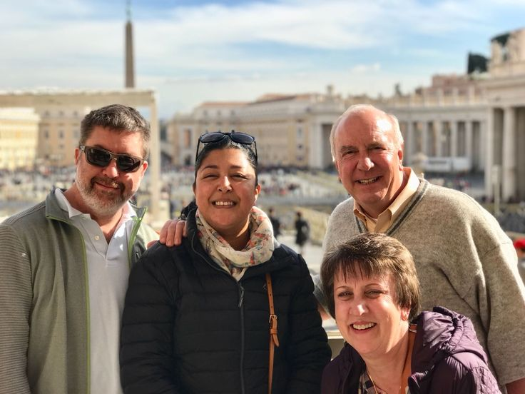 How great is this photo! Our guide Luca took this photo of our clients on November 9th after a great morning of looking around the Vatican Museum. We are so glad our clients chose a small group where they were able to speak to our guide and ask everything they wanted about the museum! For more information about our Vatican Early Entrance Small Group Tour: www.livitaly.com/tour/early-entrance-vatican-small-group-tour/?src=pinterest