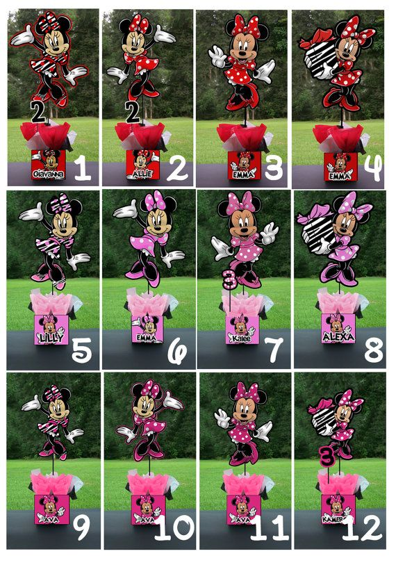 Minnie Mouse Birthday Party. www.playpatterns.net