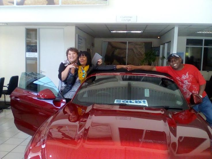 congrats with the purchase of your amazing Mustang from me - Basani and Thato Duiker - may you drive 10000 of blessed km