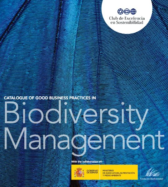 "The ""Best Business Practices Catalogue in Biodiversity Management"", developed in collaboration with the Spanish Ministry of Agriculture, Food and Environmental Affairs through the Biodiversity Foundation, aims to highlight a wide range of initiatives carried out by companies which have integrated natural capital into business strategy and management."