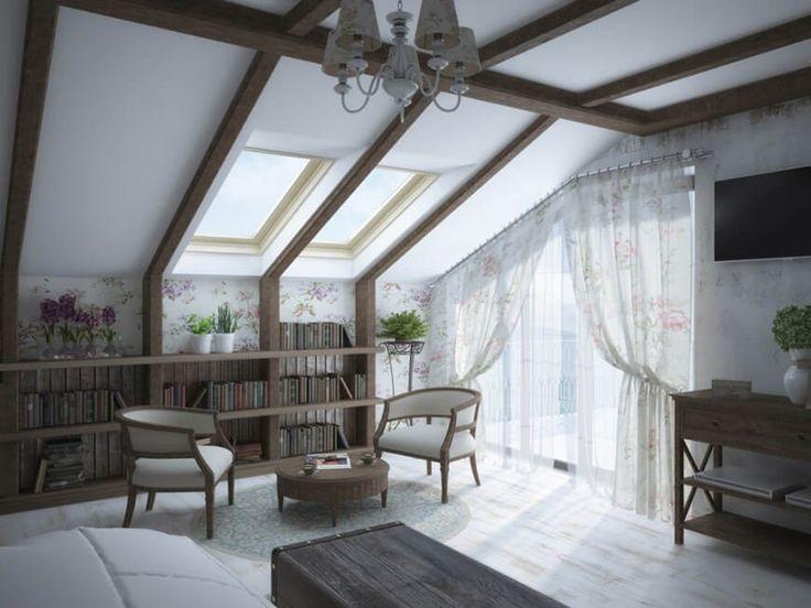 die besten 25 schr ge decke ideen auf pinterest. Black Bedroom Furniture Sets. Home Design Ideas