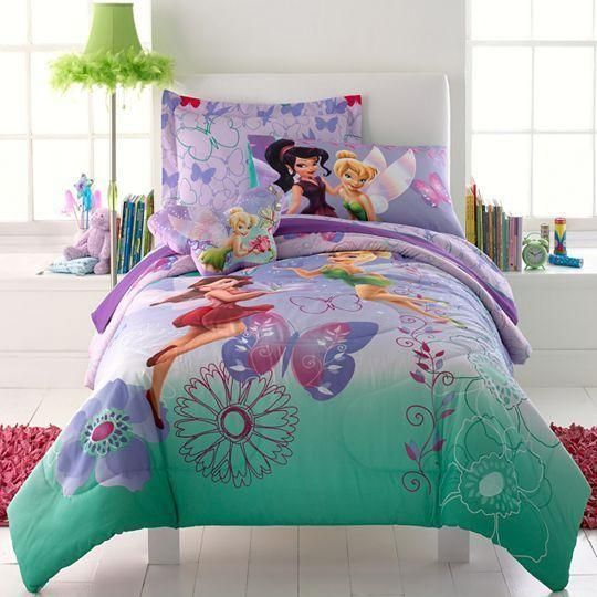 Tinkerbelle Bedding Is Cute For Fairies My Pins