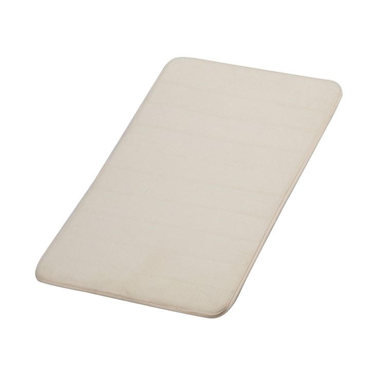 "Bath Mat, Cozime Anti-Bacterial Anti-Slip Bath Mat For Standup Desks, Bathroom, Dorm Room, Kitchen And Other More Humid Use (20"" x 32"" Beige)"