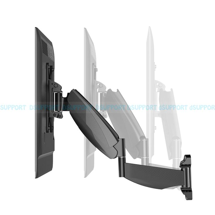 """==> [Free Shipping] Buy Best Loctek Move-S2 Full Motion 32""""-42"""" LCD LED TV Wall Mount Gas Spring Arm Free Swivel Lifting Bracket Loading 5-13kgs VESA 200/100 Online with LOWEST Price 