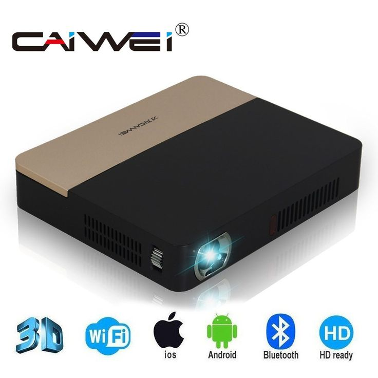 CAIWEI S7 android tv 1080 Full HD Support 4K Video Mini 3D Projector Bluetooth 4.0 Wifi Home Theater DLP Projector Beamer //Price: $0.00//     #gadgets