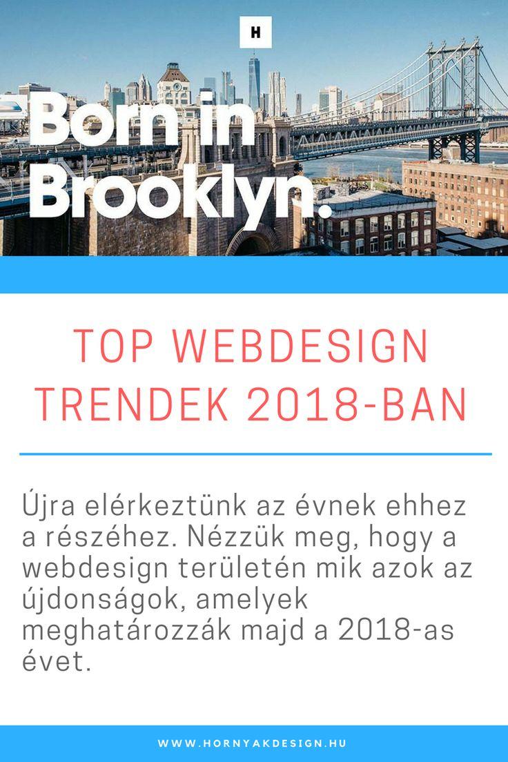 Top webdesign trend 2018