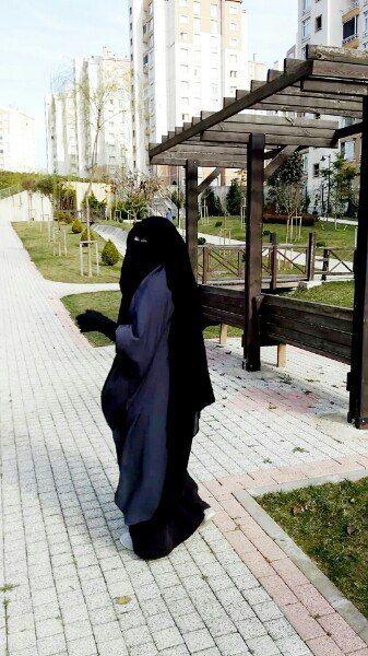 Gorgeous Long Niqab