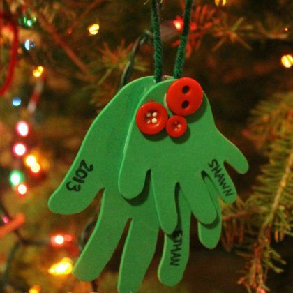 Mejores 7 imgenes de christmas 2018 en pinterest 25 christmas ornaments kids can make solutioingenieria Choice Image