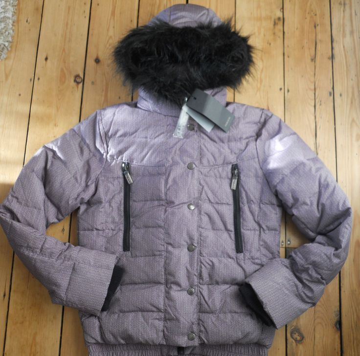 Feraud Jacket Down & Feather Quilted Womens Size 12 & 16 New Authentic RRP£225