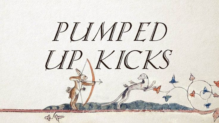 A Melodic Medieval Cover of 'Pumped Up Kicks' in 2020 | Pumped up kicks. Kicks. Medieval fashion