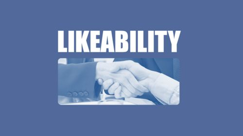 How to use likeability as a method of influence when creating and delivering memorable, persuasive sales presentations...