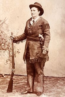 Calamity Jane ♦ Martha Jane Canary or Cannary (May 1, 1852 – August 1, 1903), better known as Calamity Jane, was an American frontierswoman and professional scout, known for her claims of being an acquaintance of Wild Bill Hickok and fighting against Native Americans.