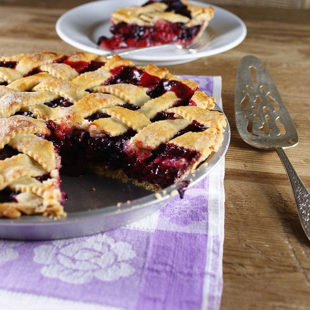 berry cherry pie for the 4th of july via @Patty Markison Price / Patty's Food