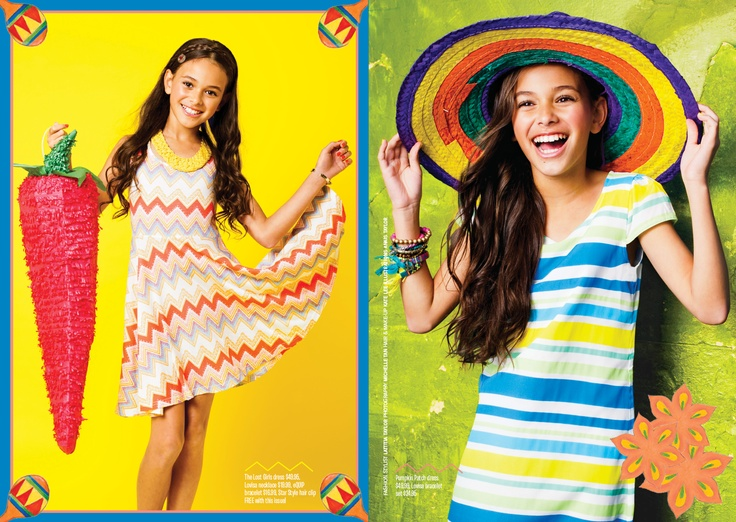 Carnival & Party features in TOTAL GIRL MAGAZINE
