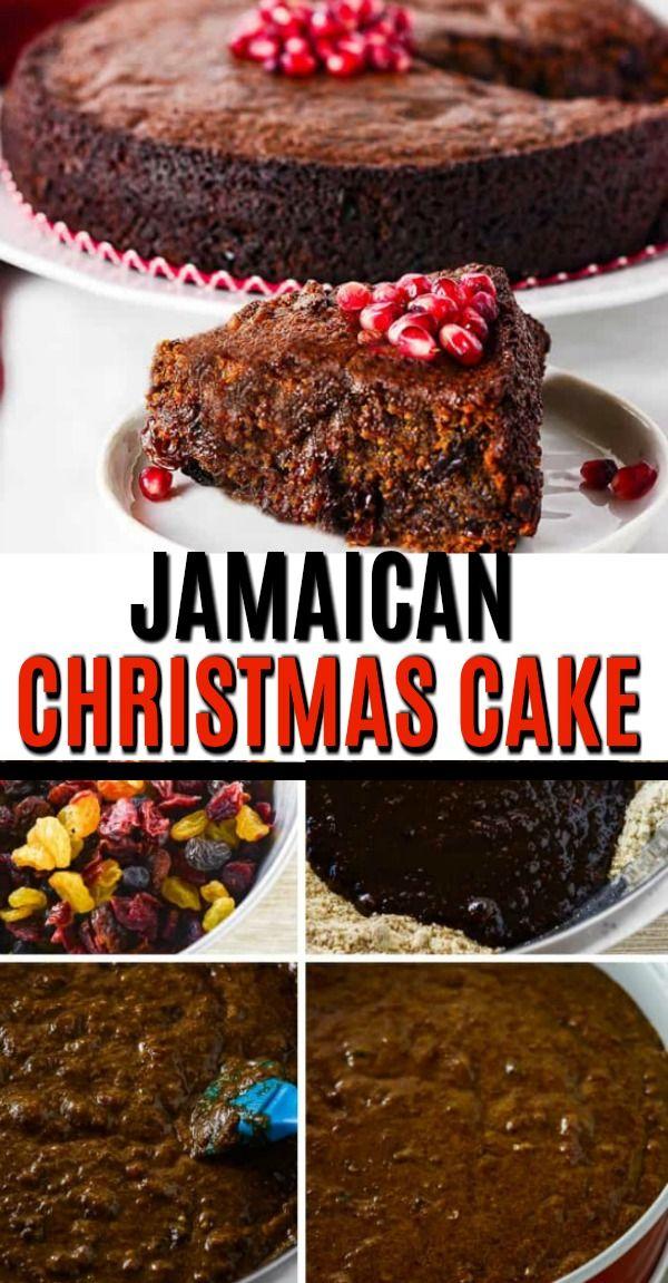 Vegan Jamaican Fruit Cake
