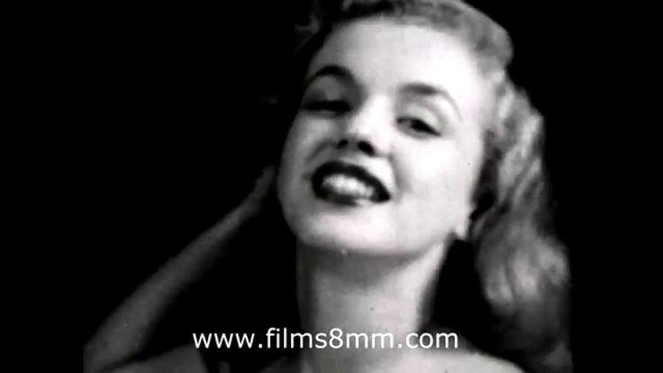 Marylin Monroe  19 y.o.VERY RARE DOCUMENT 8mm film 1946