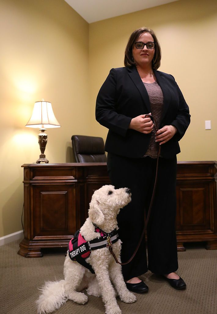 Pin On Therapy Pets At Funerals