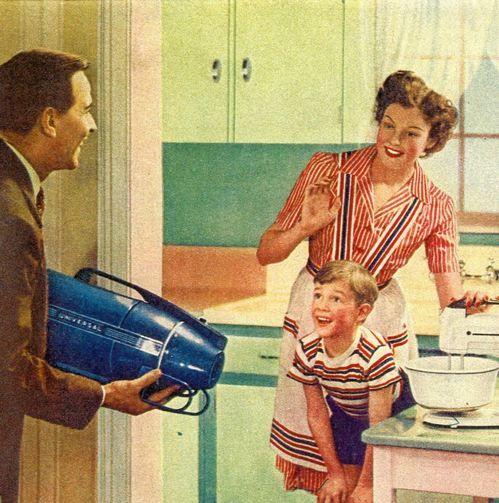nice vacuum, dad!