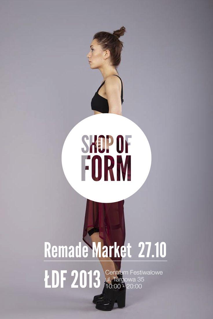 #shopofform #Lodz #festival #young #polish #designers #Poland #2013 #Remade market  photo by Marta Jagielska