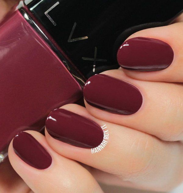 Top 66 Dark Nails für den Winter 2019 – # Dark #den # for #nails #Top #Winter … – Nagels Art