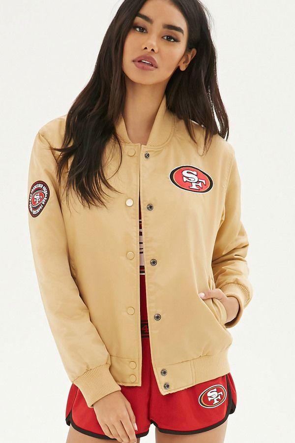 FOREVER 21+ NFL 49ers Bomber Jacket