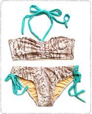 Bikini Penélope pitón from Bequeve Swimwear (viva Venezuela!) #supasistalatina #latina #supadaily Hotness!
