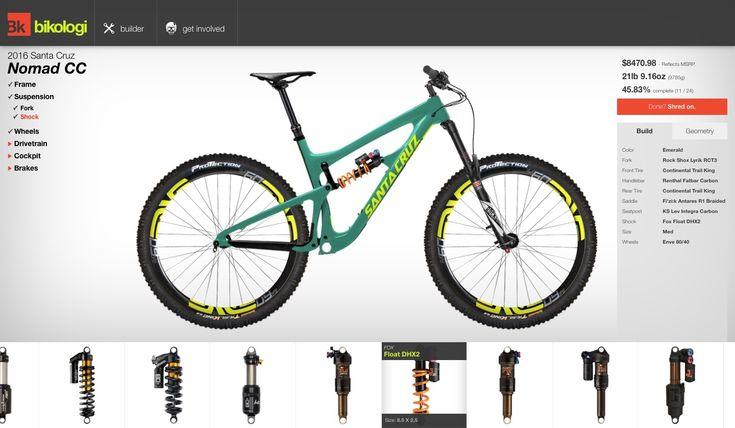 Bikologi: The Online Bike Builder You've Been Waiting For.