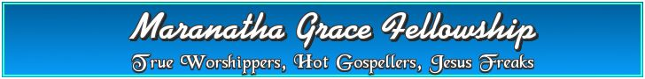 Maranatha Grace Fellowship church banner