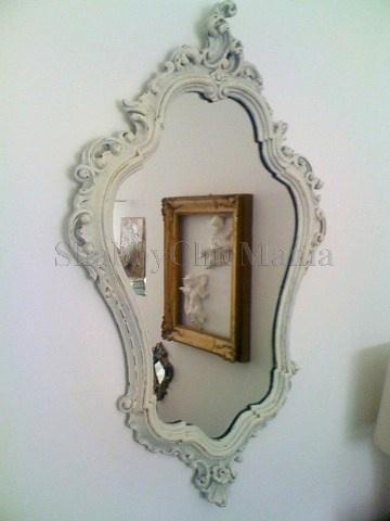 Oltre 25 fantastiche idee su specchio shabby chic su for Specchio shabby