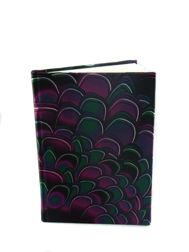 Modern Love Large Luxury A5 Notebook – Purple Drake