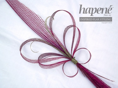 Pink Hapene Butterfly Bouquet - Hapene Online Store, flax flowers and arrangements