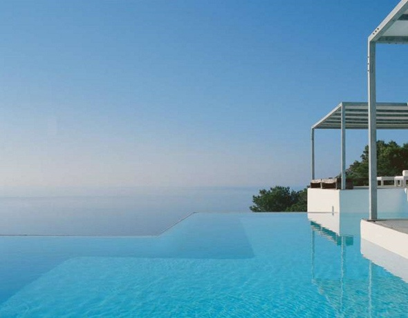 Na Xemena House: Contemporary Home, Dreams Houses, Ramones Estev, Architectural, Ocean View, Contemporary Design, Infinity Pools, Pools Design, Awesome Places