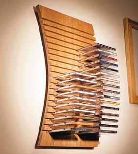 Home-Dzine.co.za   diy   diy projects   make this wall-mounted CD rack