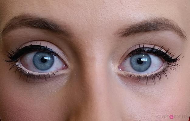 how to apply white eyeliner to make eyes bigger