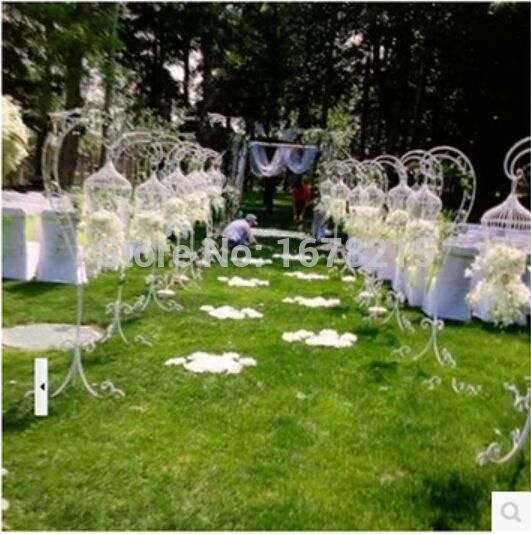 Ou, ferforje kafes. Zemin kafes destek. Düğün kuş kafesi dekoratif çiçek(China (Mainland))