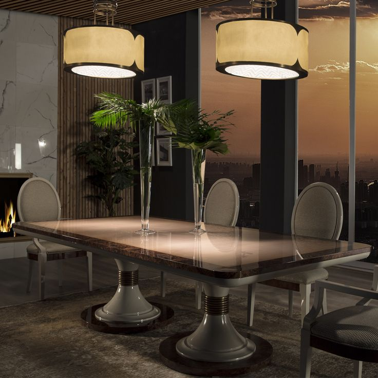 Table Ascot by Mariner Luxury Furniture and Lighting & 455 best Furniture images on Pinterest | Armchairs Sofas and ... azcodes.com