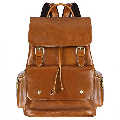 Gorgeous Womens Leather Casual Backpack