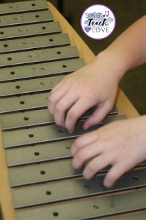 Instrument Bar Dance: Fun ideas for teaching students to take bars off Orff instruments!