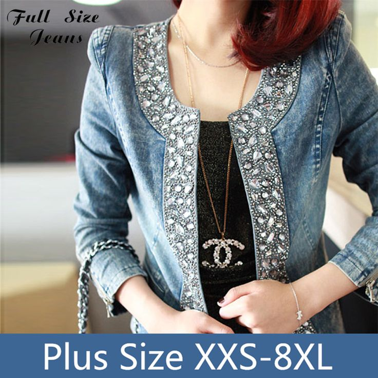 Cheap jean jacket girls, Buy Quality jeans leather jacket directly from China jacket fall Suppliers:    Extra Long Skinny Jeans 14 16 18 20 22W 24L L32 34 36 38 40W Xxxl 4Xl 5Xl 6Xl Plus Size Denim Pants Mid Rise Snow Was