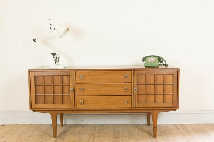 Vintage Retro Teak Small Danish Style Sideboard by Younger - Mid Century 60s