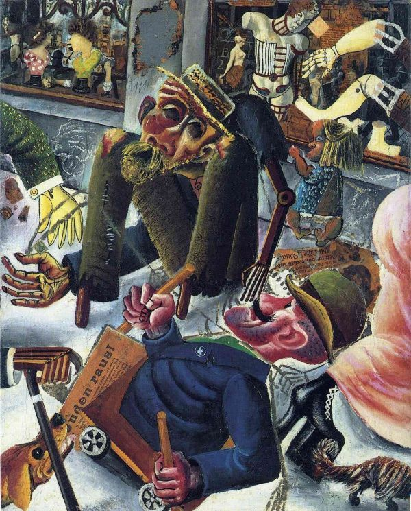 Отто Дикс, Макс Бекман, Георг Гросс… Культовые немецкие модернисты и имена, лишь ныне ставшие «открытием» - в рамках Венецианского #биеннале открыта экспозиция, проливающая свет на тенденции в искусстве эпохи расцвета Веймарской Республики.